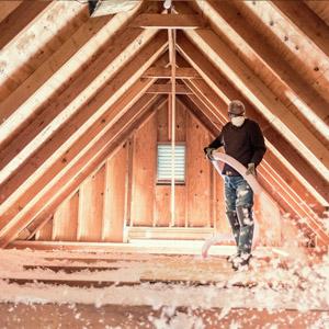 Adding insulation to attic, West Island