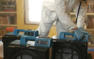 Moisissures: filtration des spores