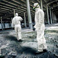 Professionnel, décontamination d'amiante