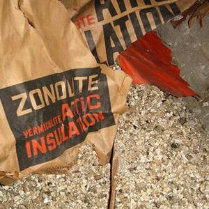 Présence d'isolation de vermiculite (Zonolite) au grenier, Saint-Jean