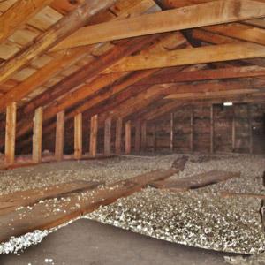 Problème de vermiculite au grenier