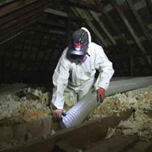 Spécialiste en enlèvement de vermiculite au grenier, Châteauguay
