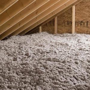 Cellulose pour isolation de toiture