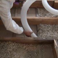 Travaux d'enlèvement et de décontamination de vermiculite